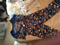 Size 4T Long sleeve dump truck pajama set