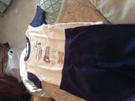 Size 2T pajama set (shorth/short sleeve)