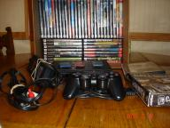 Playstation 2 (Slim); 47 Games, controller & 4 memory cards