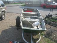 10 foot flat-bottom boat