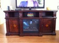 entertainment center/electric fireplace