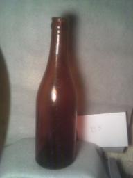 Vintage Seitz Brewery Amber Bottle