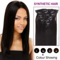 Black Synthetic Hair Extensions