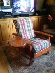 Vintage living room chair