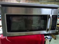 Used Stainless Steel Whirlpool Microwave Hood Combination