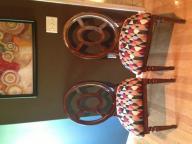 2 High-Back Modern Chairs