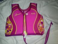 Girls age 4-6 SPEEDO life jacket