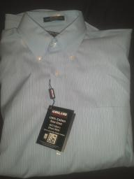 Mens Light Blue Dress shirt