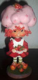 2001 Strawberry Shortcake Bobble Head