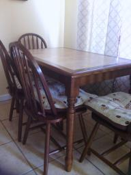 table and chair for 4