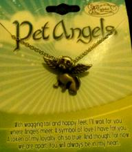 Pet Dog Angel Necklace