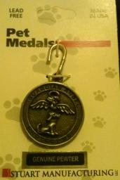 Dog Guardian Angel Tag