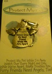 Protect my pet (dog) tag
