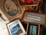 Lighthouse framed pictures