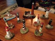 Mini Lighthouse figurines