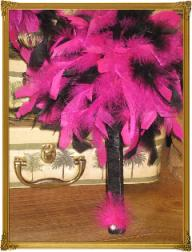 Feather Bridesmaid Wedding Bouquet - NEW