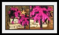Bridesmaid Feather Wedding Bouquet - NEW