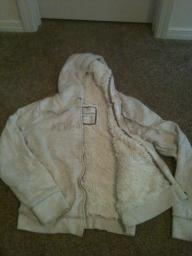Aeropostale Jacket with fur lining