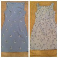 2 SLEEVELESS DRESSES