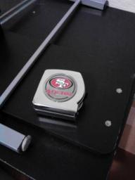 49ers Tape Measure