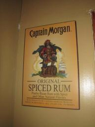Captain Morgan sign for sale