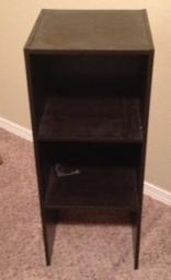 Small Dark Wood Shelf