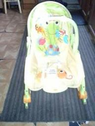 baby bouncer that vibrates