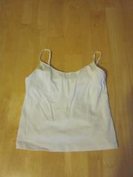 One Step Up White Cami - Medium