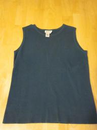 Coldwater Creek Green Tank Top - Medium
