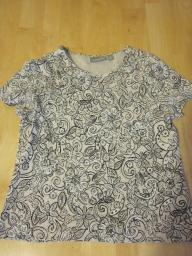 Croft & Barrow Floral Top - Size PM