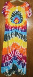 Tie Dye Dress 3x