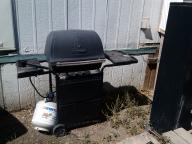 BBQ with Almost Full Propane Tank