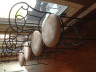 Bar height bar stools-set of 4
