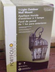Portfolio Outdoor Light (Wall Mount)