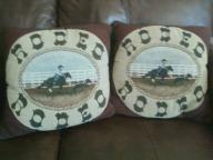 Two Rodeo pillows