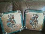 Two southwestern pillows