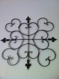 metal art piece/ Wall hanging