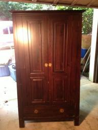 T.V. Armoire
