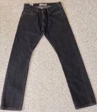 Levi's 514 Slim Straight Black Jeans