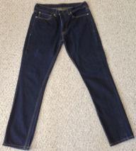 Levi's 511 Dark Blue Jeans