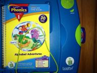 Leap Pad system with phonics game  $15