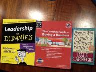 Books for business people $5 each
