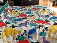 Dinosaur comforter $4