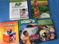 Middle school and highschool textbooks