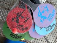 Beach paddle ball sets $5