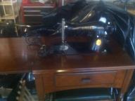 Singer Vintage Sewing Machine & Stool