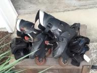 Kids size 4-7 roller blades with protective equipment  $27