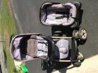 Eddie Bauer stroller/infant car seat