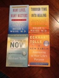 Self help books: $5 each or $15 for all