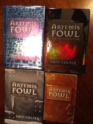 Artemis fowl book series $20 for all